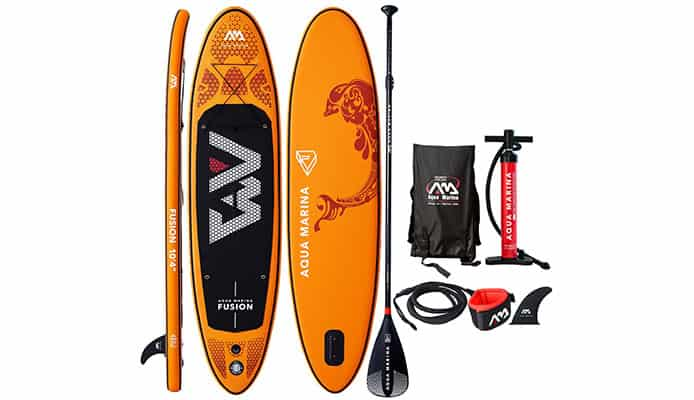 "Aqua Marina Fusion 10'4"" Paddleboard Review"