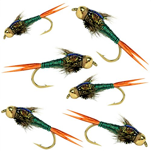 BH Copper John Flies For Trout
