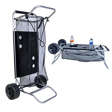 Folding Table Beach Cart