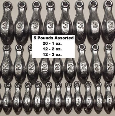Bullet Weights Bank Fishing Sinkers