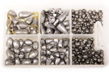 Bullet Weights Assorted Kit Fishing Sinkers