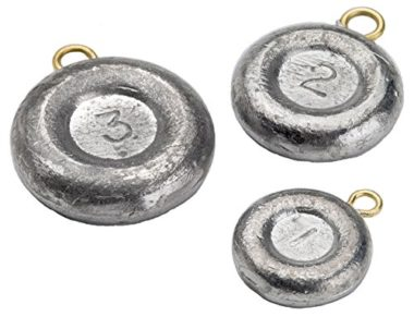 Bullet Weights Disc Fishing Sinkers