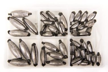 Bullet Weights Rubber Grip Fishing Sinkers