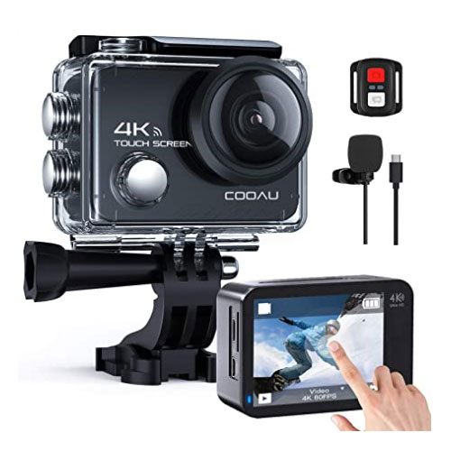 COOAU Action Camera For Surfing