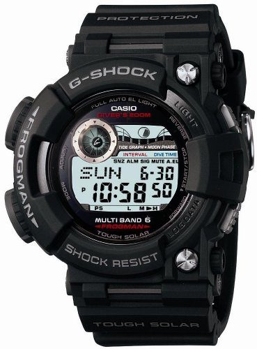 Casio G-Shock Digital Dial Resin Quartz Dive Watch Under $1000