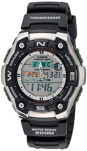 Casio Men's AQW101-1AV Fishing Watch