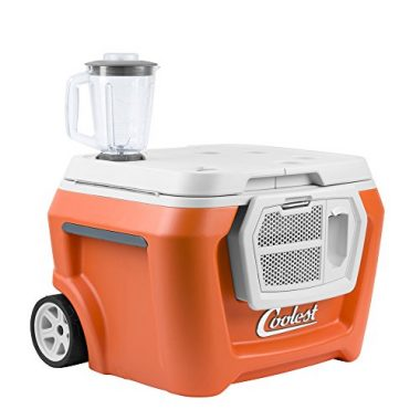 Coolest Cooler Premium Ice Chest Wheeled Cooler