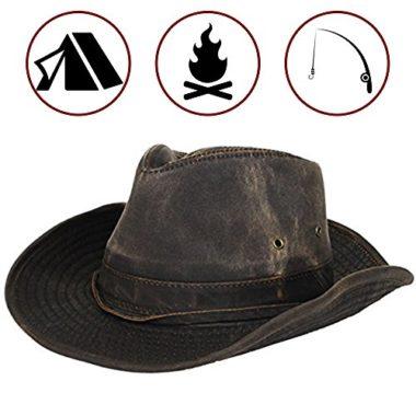 Dorfman Pacific Men's Outback Boonie Hat