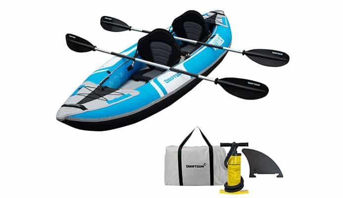 Driftsun Voyager Inflatable Kayak Review