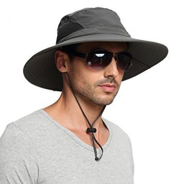 Wide Brim Sun Hat by EINSKEY