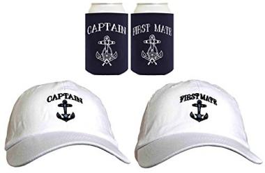 Embroidered Sailing Cap Set by ThisWear