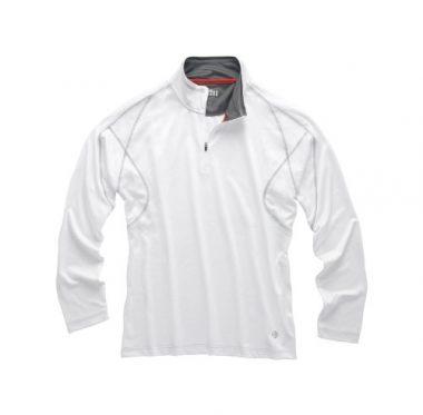 Gill Men's UV Tec Long Sleeve Zip Neck Polo Sailing Shirt