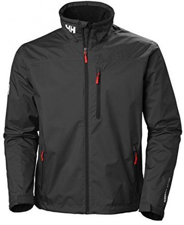 Men's Crew Midlayer Fleece Lined Waterproof Jacket by Helly Hansen