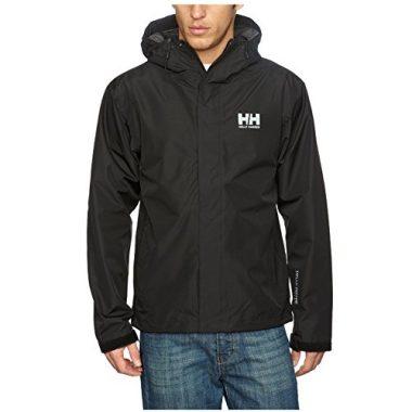 Men's Waterproof Rain Jacket with Hood by Helly Hansen