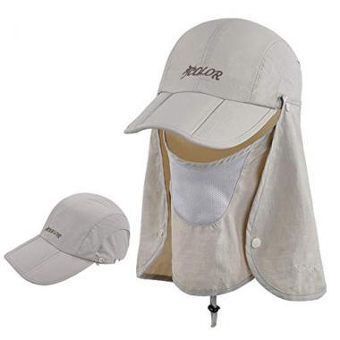 Sun Caps Flap hats by ICOLOR