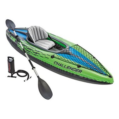 Intex Challenger K1 Kayak, 1-Person Affordable Kayak