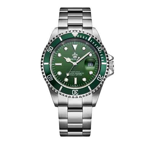 Fanmis Green Dial Quartz Dive Watch