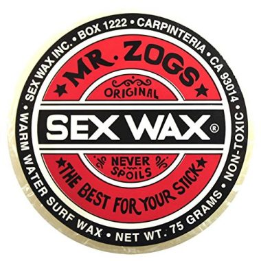 Mr. Zogs Original Sexwax Warm Water Temperature