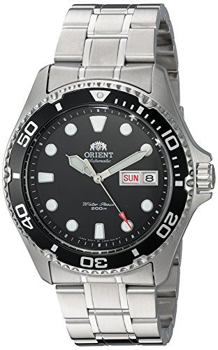 Orient 'Ray II' Men's Automatic Dive Watch Under $200