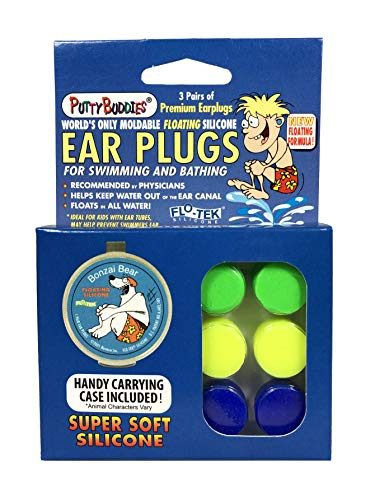 Putty Buddies Floating Silicone Earplugs