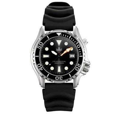 Phoibos Men's Swiss Quartz Dive Watch