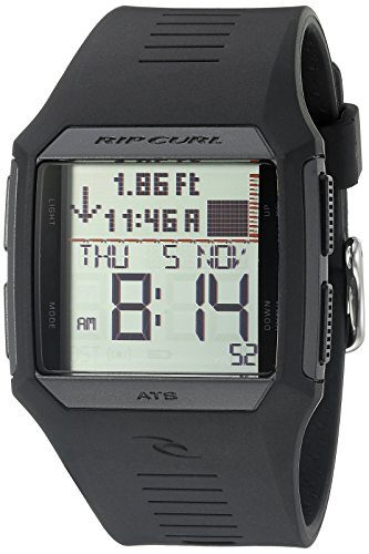Rip Curl Rifles Waterproof Digital Tide Fishing Watch
