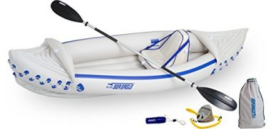 Sea Eagle SE330 Inflatable Sport Budget Kayak