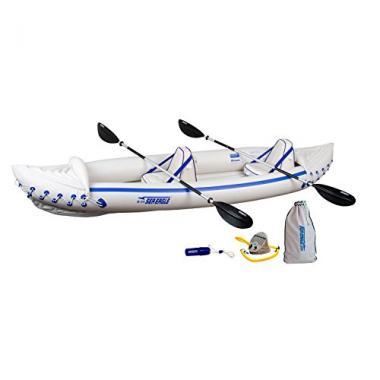 Sea Eagle SE370 Inflatable Ocean Kayak Pro Package