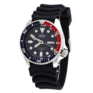 Seiko Divers Automatic Blue Dial Men's Dive Watch Under $500