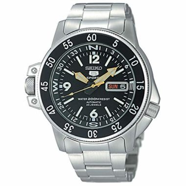 Seiko SKZ211K1 Five Automatic Men's Dive Watch Under $200