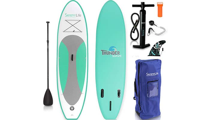 SereneLife Inflatable Paddle Board Review