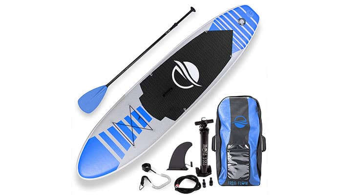 SereneLife Premium Inflatable Paddle Board Review