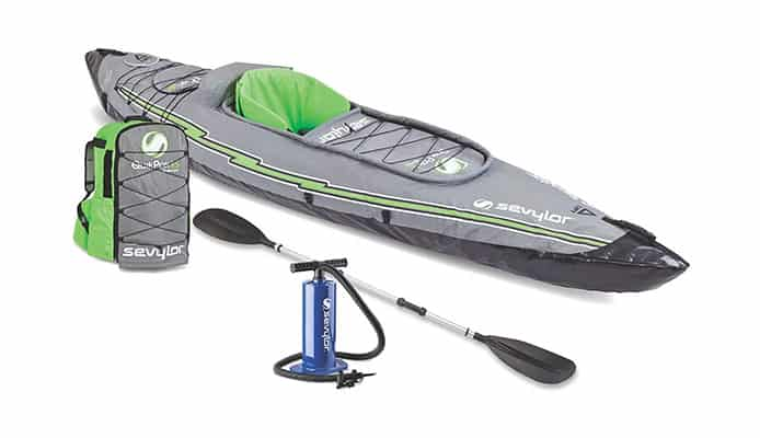 Sevylor Quikpak K5 Kayak Review