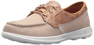 Sketchers Go Walk Lite Boat Shoes For Women