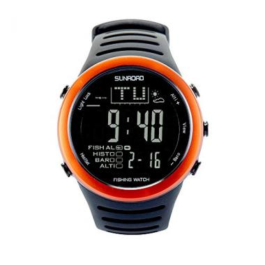 SunRoad FR720 Digital Men's Waterproof Fishing Watch