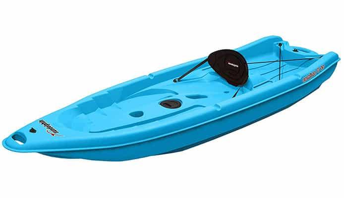 Sun Dolphin Camino 8 SS Kayak ReviewSaltwater Fishing Kayak