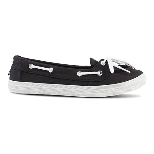 Twisted Casual Canvas Boat Shoes For Women