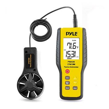 Upgraded Digital Anemometer by Pyle