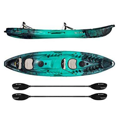Vibe Skipjack 120T 12′ Angler Tandem Kayak