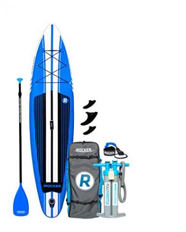 iROCKER Inflatable Sport Stand Up Paddle Board 11'