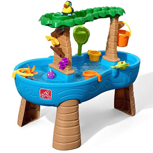 Step2 Tropical Rainforest Kids Water Table For Kids
