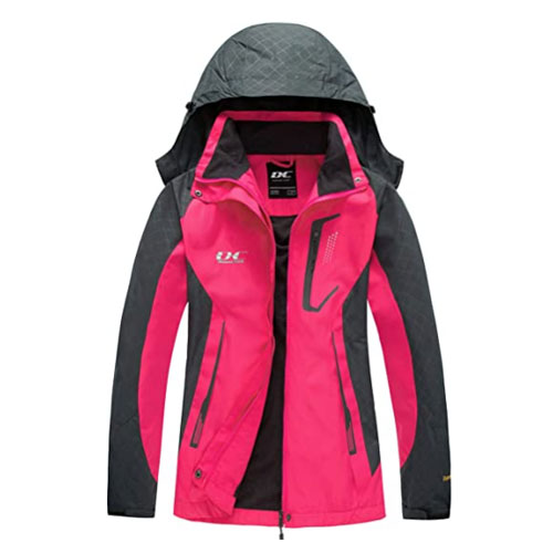 Diamond Candy Hooded Women's Ski Jacket