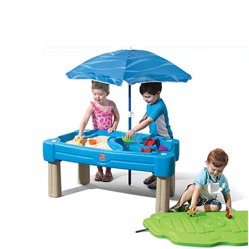 Step2 Cascading Cove Sand & Water Table For Kids