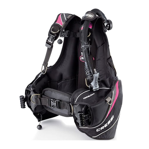Cressi Travelight Lady BCD for Women