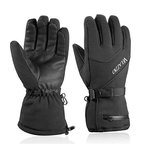 Velazzio Waterproof Breathable Ski Gloves