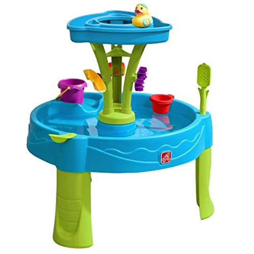 Step2 Summer Showers Splash Tower Water Table For Kids