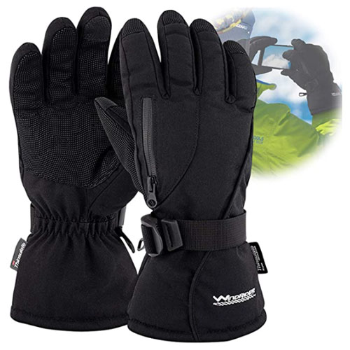 WindRider Rugged Snowboard Gloves