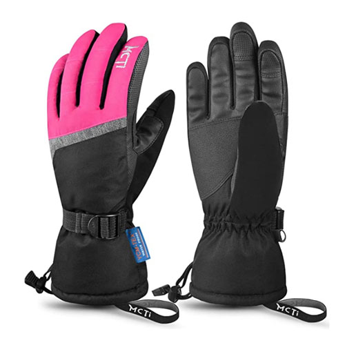 MCTi 3M Thinsulate Womens Ski Gloves