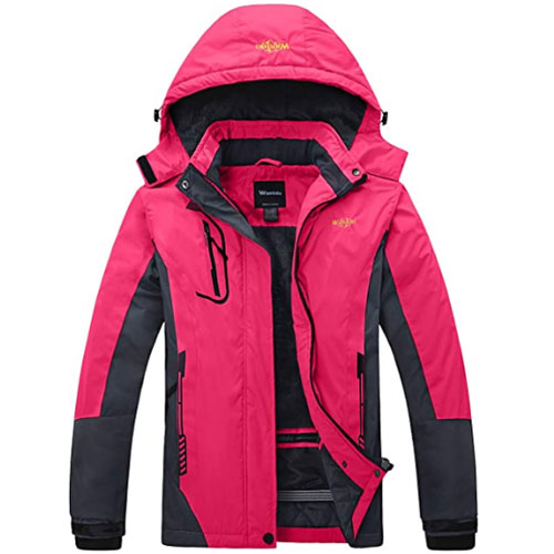 Wantdo Mountain Women's Ski Jacket