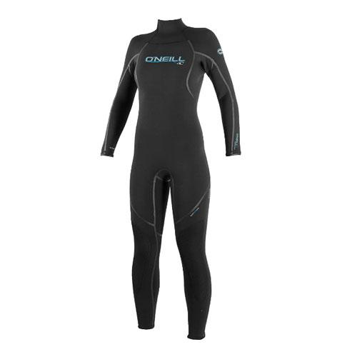 O'Neill Women's Dive Sector 5mm Back Zip Full Wetsuit